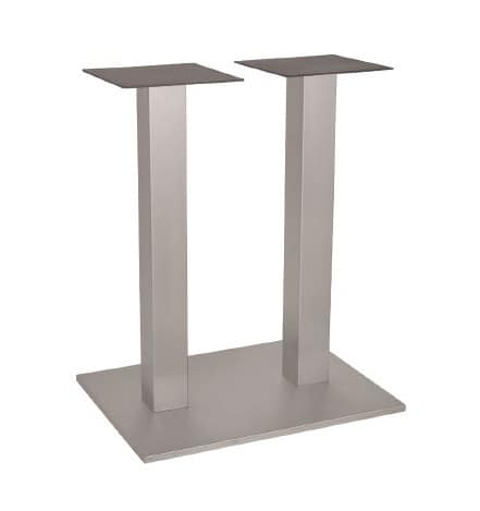FT 060 Double Column, Base for table, in metal, with 2 columns, for wine bar