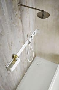 Picture of ERGO_NOMIC shower shelf, suitable for hotel