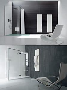 Picture of Radiant panel, bathroom set