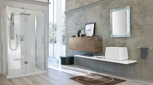 BLUES BL-14, Bathroom furniture in dark elm
