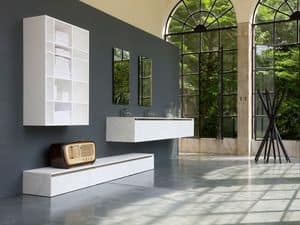 Picture of 360gradi comp.1, small cabinet for bathroom