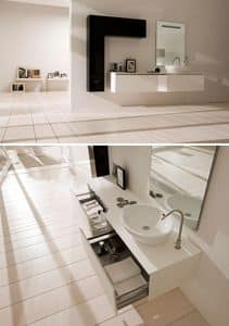 Picture of 360gradi comp.2, modern bathroom cabinet