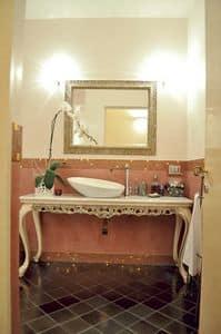 Art. 2015-B Sharon, Classic bathroom furniture, marble top