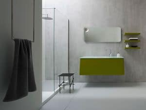 Picture of Campus 07, washbasins with mirror