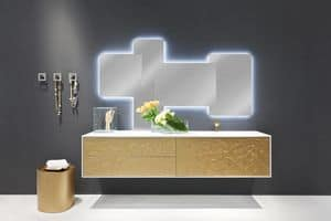 Coc� Flower 01, Luxury furniture for bathroom, decorated by hand