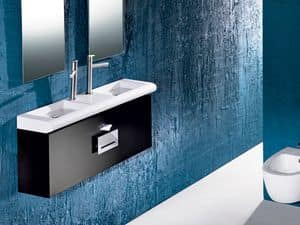 CURVET FURNITURE, Furniture for bathroom, various dimensions
