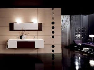 Picture of Facto Evolution 03, small cabinets for bathroom