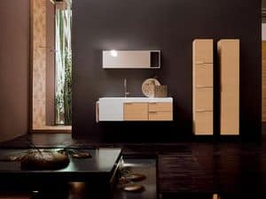Picture of Facto Evolution 04, bathroom furniture compositions