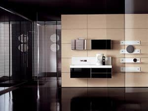 Picture of Facto Evolution 17, modular bathroom furnishing system