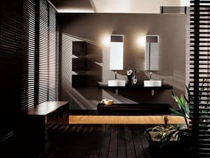 Picture of Facto Evolution 11, furniture composition for bathroom