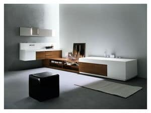 Picture of Facto Evolution 01, small cabinets for bathroom
