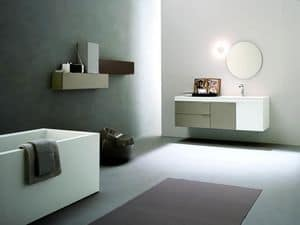 Picture of Facto Evolution 09, composition with mirror and washbasin
