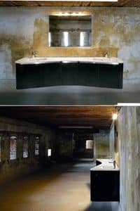 Picture of Fiore D'Acqua comp.4, modular bathroom furnishing systems