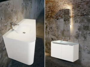 Picture of Fiore D'Acqua comp.5, bathroom cabinet