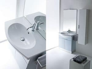 Picture of Idrobath 09, washbasin with mirror