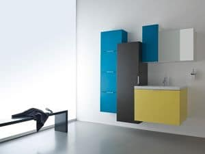Picture of Idrobath 12, bathroom furniture composition
