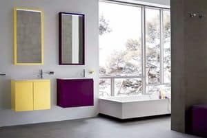 Picture of Lapis 03, modern bathroom cabinet