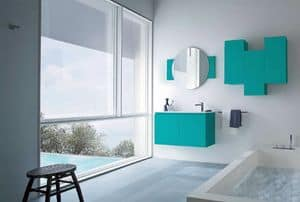 Picture of Lapis 05, bathroom furniture compositions