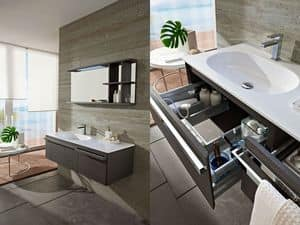 Picture of Loft comp.11, modern bathroom cabinet