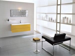Picture of Memento 08, bathroom furniture with washbasin
