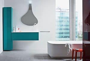 Picture of Memento 05, storage cabinet for bathroom
