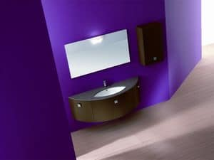 Picture of Moon comp.2a, modern bathroom cabinets