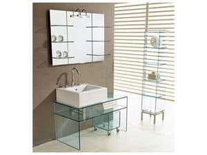 Picture of PANORAMA BATHROOM - CONSOLE, cabinet for washbasin