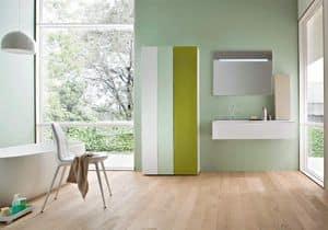 Picture of Razio 01, elegant bathroom furniture