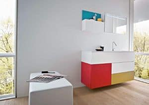 Picture of Razio 02, bathroom furniture composition