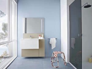 Picture of Razio 03, modern bathroom cabinet