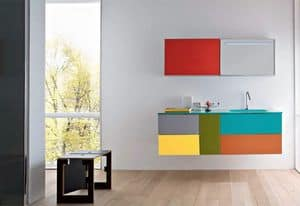 Picture of Razio 04, cabinet with washbasin