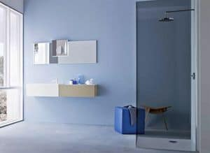 Picture of Razio 08, storage cabinets for bathroom