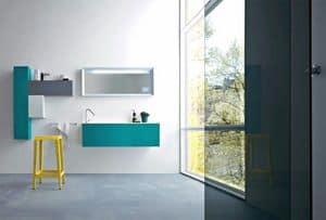 Picture of Razio 09, washbasin with mirror