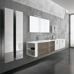 STR8 comp. 03, Stylish bathroom furniture with open modules