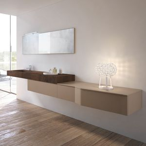 STR8 comp. 06, Bathroom cabinet with Push & Pull drawers