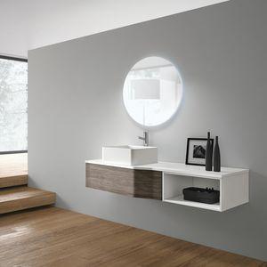 STR8 comp. 10, Bathroom furniture, modern, with ceramic washbasin