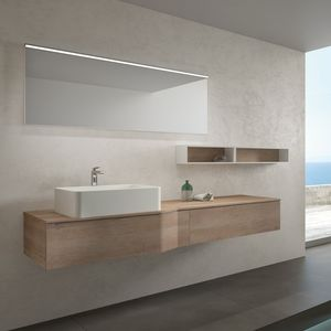 STR8 comp. 12, Bathroom furniture, modern, in melamine and ceramic