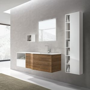 STR8 comp. 13, Bathroom furniture with integrated basin in the top