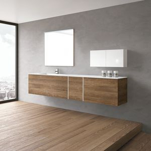 STR8 comp. 17, Bathroom furniture suspended, with Push & Pull openings