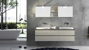 Torana TR 001, Furniture with 2 sinks, with tranch� top