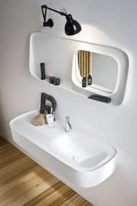 Picture of FONTE mirror with shelf, suitable for hotel bathrooms