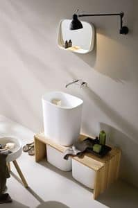 Picture of FONTE overcounter washbasin, suitable for club