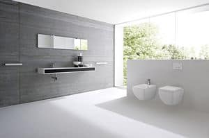 Picture of GIANO integrated top, washbasins