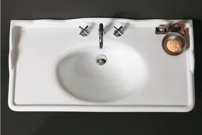 Ceramic Sink With Overflow IDFdesign