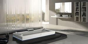 Picture of Aura Uno Corian, modern bathtubs