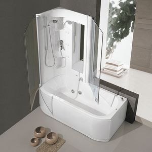 Duo Box, Whirlpool bathtub with multifunction column