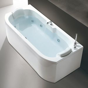 Duo, Jetted bathtub with pillows and chromotherapy