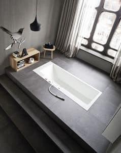 Picture of ERGO_NOMIC recessed bathtub, suitable for beauty center