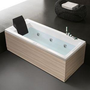 Era 170x75 - 170x70, Spa bath with chrome faucet