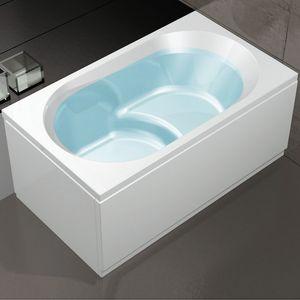 Nova 120x70, Bathtub with chrome taps for home